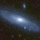 Halpha in M31,                                David Johnson