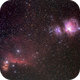 Orion with IC434 and M42,                                Christian Dahm