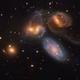 """Galactic Wreckage in Stephans Quintet"" - APOD :-),                                  Daniel Nobre"
