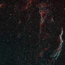 The Veil Nebula in HOO - A 4 Panel Mosaic,                                Rodney Michael