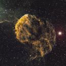 IC443 JellyFish Nebula  RGBSHO,                                mayapple