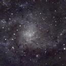 M33 . Galassia del Triangolo,                                giamas.astro