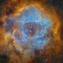 Rosette Nebula in SHO-LRGB,                                equinoxx