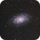 M33 the Triangulum galaxy,                                Nebnellis