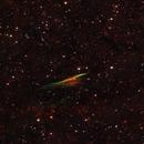 The Pencil Nebula,                                Ivan Hancock