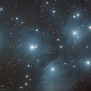 "Bonus Image : M45 ""Pléiades"" (1h in early morning),                                Jean-Baptiste Auroux"