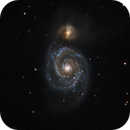 Whirlpool Galaxy (M51),                                Stuart Goodwin
