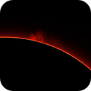 Sun, prominences, March 16, 2021,                                Ennio Rainaldi