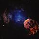 Jellyfish nebula (IC 443) in SHO,                                Andrew Gutierrez