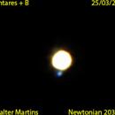 Antares star + B,                                Walter Martins