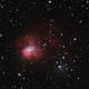 NGC1931 through an LPR filter,                                lowenthalm