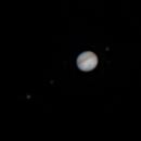 Saturn - Jupiter Conjunction 2020-12-18,                                Mark L Mitchell