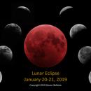 Total Lunar Eclipse, 2019,                                Steven Bellavia
