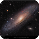 Messier 31 - The Andromeda Nebula Mosaic in 8K resolution,                    Frank Schmitz