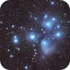 M45 The Pleiades,                                Larry