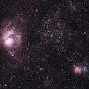 Messier 08 & Messier 20,                                John O'Neal, NC S...