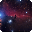 Horsehead Nebula, Reflection Nebula NGC 2023, and Flame Nebula in Orion,                                Ray Blais