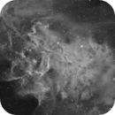Heart of the Flaming Star nebula (IC 405),                                  Luca Marinelli