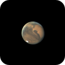 Animation of three hours twenty minutes of Mars rotation 10/01/2020,                                Anthony Quintile