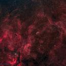 Crescent Nebula (NGC-6888) Wide @ DSW,                                  Miles Zhou