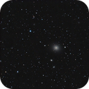 M 87 (with jet from black hole!),                                  Paul Muskee