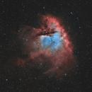 NGC 281 - Pacman Nebula - Nov/Dec/Jan 2020/21 - Bicolor v1,                                Martin Junius