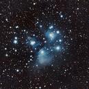 M45, Pleiades,                                Russ Rybicki