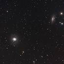 M77 and NGC 1055,                                Robin Clark - EAA imager