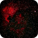 North America Nebula, NGC7000,                                Kabir Jami