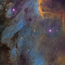 Pelican nebula in NB,                                Juan Lozano