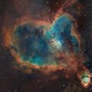 Heart Nebula (IC 1805),                                Jaganath A