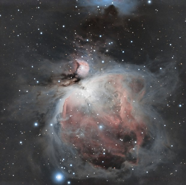 M42- The Great Orion Nebula,                                SapperUp
