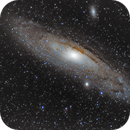 Neubearbeitung 4 M31 alias Andromeda Galaxie 400mm,                                Matthias Groß