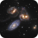 Stephan's Quintet,                                CoFF