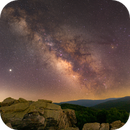 Milky Way from Blackrock Summit, Shenandoah National Park,                                Rex Robichaux