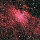 Eagle Nebula M16 in LRRGB,                                TWFowler