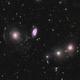 NGC 467, 470 and 474.  Intergalactic Star Streams.,                                Vlad Onoprienko