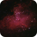 M16 (Eagle Nebula) -- Nikon D5300 & 200 mm Telephoto lens,                                Nick Large