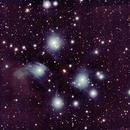 M45 - Plejaden,                                Jens Hartmann