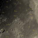 Crescent Moon (Mare Tranquilitatis, Mare Crisium, Mare Fecunditatis...) 36%,                                Cyril NOGER
