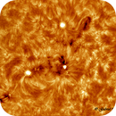 AR12818 & AR12820 of today, shot in H-alpha frequency.,                                Gabriel - Uranus7