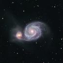 The Whirlpool Galaxy M51,                                Terri