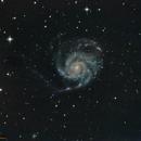 M101 Pinwheel galaxy,                                jon nicholls