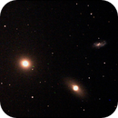 Galaxies M 105, NGC 3384 and 3389  in Leo,                                Claudio Costa
