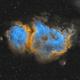 IC 1848 - Soul Nebula in Hubble Palette,                                Brad