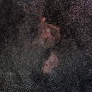 Double Cluster and  Heart nebula & Soul nebula  - widefield,                                Siegfried