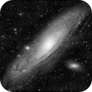 Messier 31 in Black & White,                                Georges