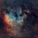 NGC 7822  Ha,HaSIIOIII,                                Pat