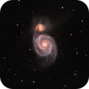 First Light Image with QHY268M: M51 LRGB + TS 130/910,                                Ben Koltenbah