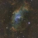 The Bubble Nebula,                                Brian Gfeller